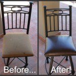 DIY Chair Cushion Reupholstering – Big Bang for a Little Buck