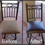 DIY Chair Cushion Reupholstering – Big Bang for a Little Buck