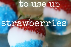 7 ways to use up strawberries