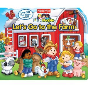 Little People, Fisher-Price, Little Readers, Let's Go To The Farm