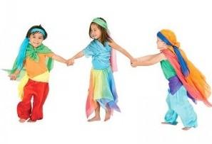 Play Silks, play scarves, make-believe, Magic Cabin, toys