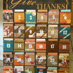 A Month of Thanks | Engaging the family in a daily time of thanks
