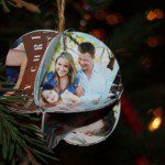 Easy DIY Christmas Ornaments Using Repurposed Holiday Cards