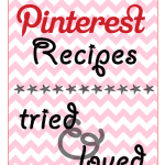 Favorite Pinterest Recipes | My Obligatory Pinterest Post