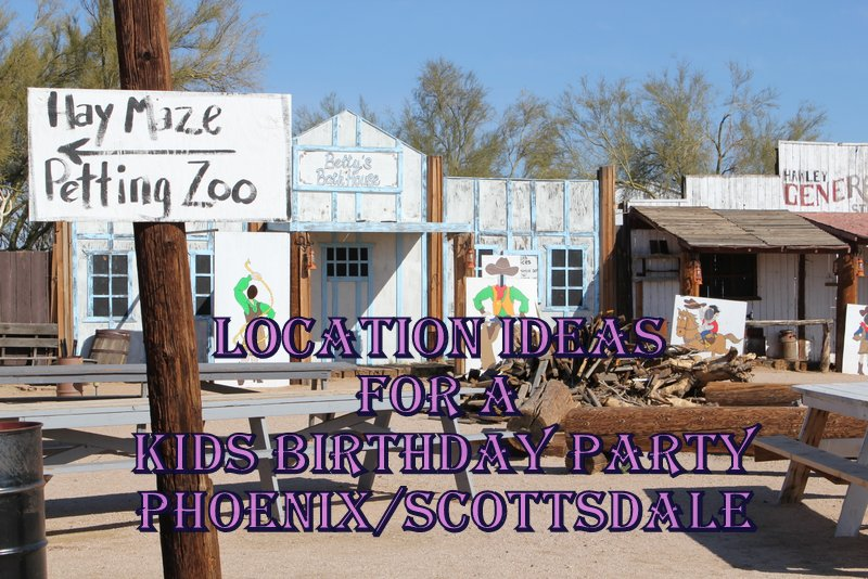 Best Birthday Party Locations in Scottsdale Phoenix
