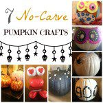 7 No Carve Pumpkin Crafts {Halloween Week TBT from SMB}