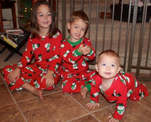 Powers Kids Christmas PJs