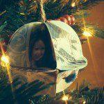 teacher ornament hanging on tree