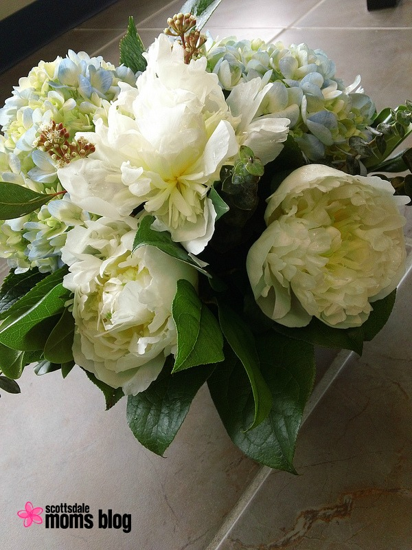 Fresh Flowers to perk up your kitchen or bathroom space