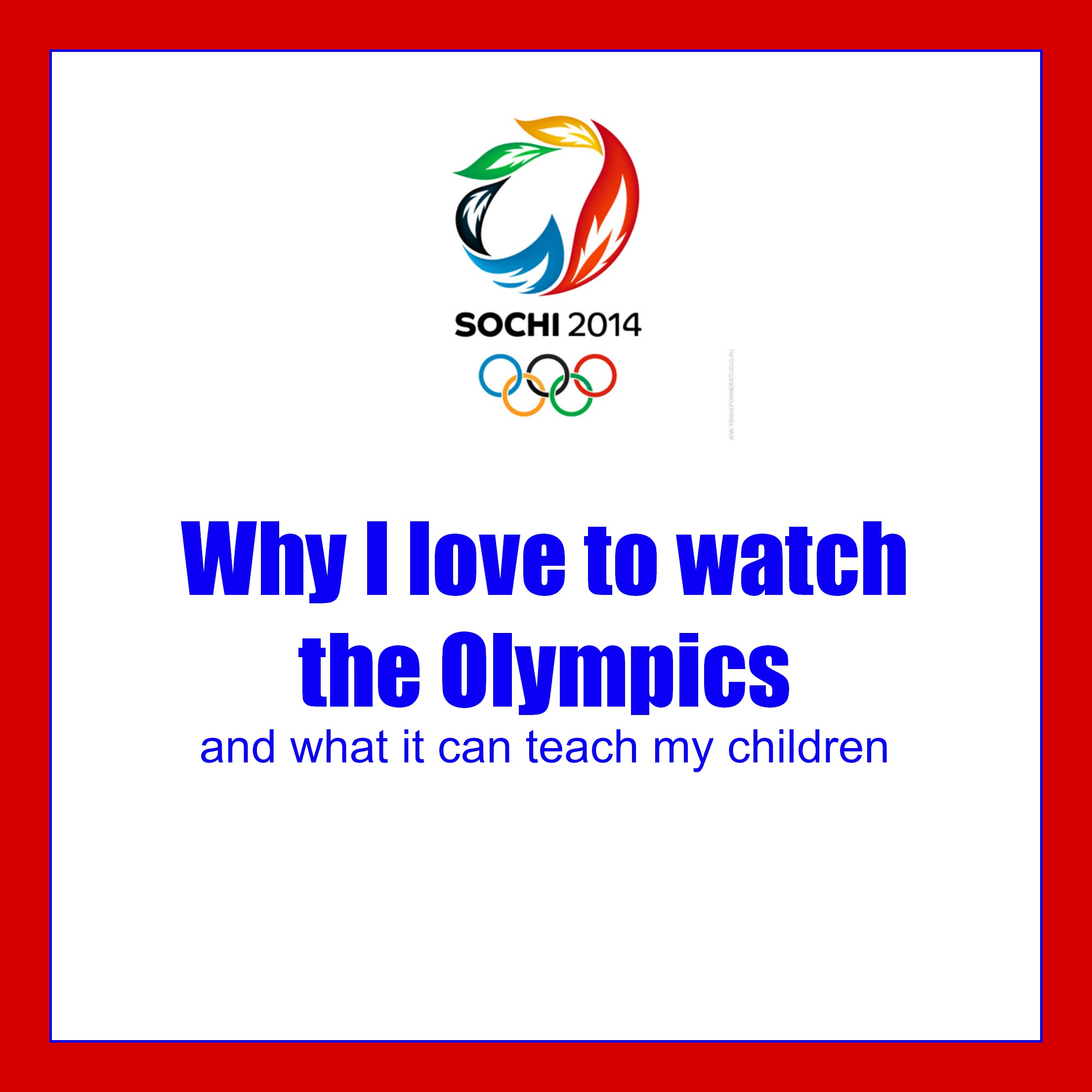 What is the Olympics in our lives 94