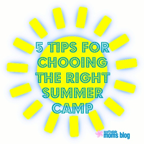Five tips for choosing the right summer camp