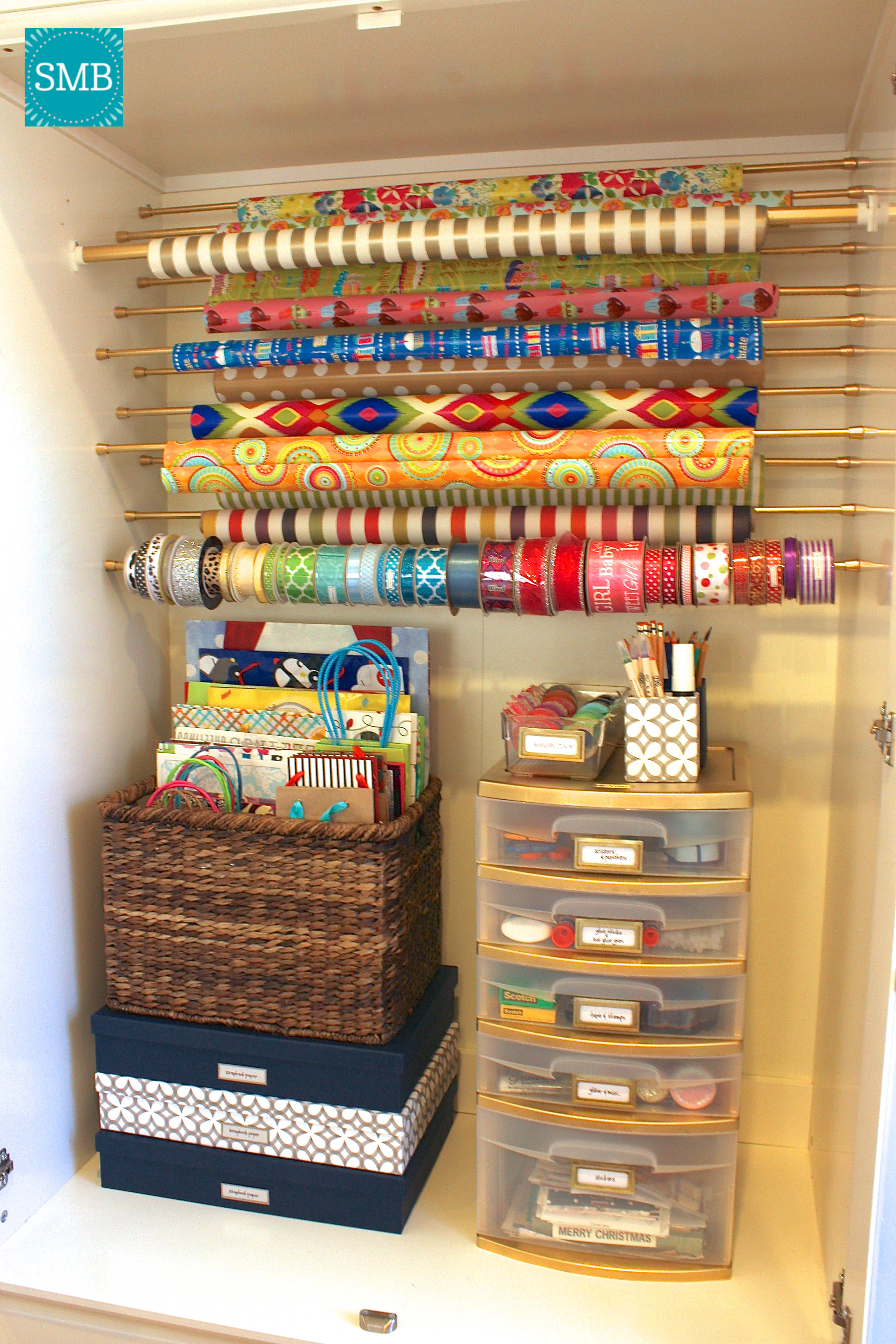 wrapping paper organizer Find great deals on ebay for wrapping paper organiser and wrapping paper storage box shop with confidence.
