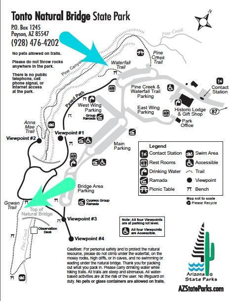 Tonto Map