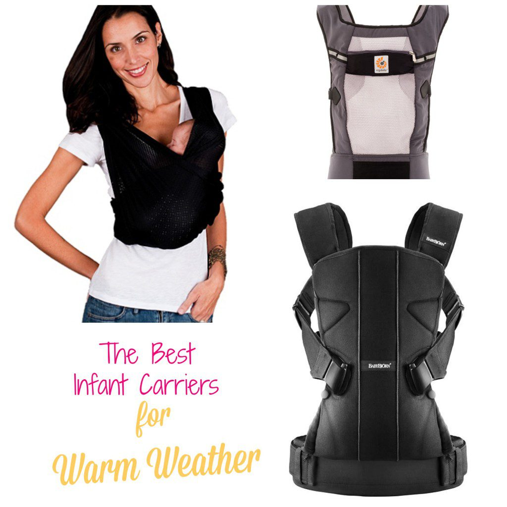 Warm Weather Baby Carriers