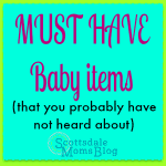 5 MUST HAVE baby items (that you probably have not heard about)