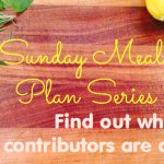 Sunday Meal Planning {Family Recipes}