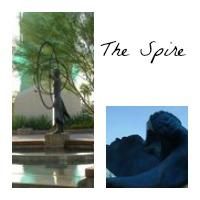 Frank Lloyd Wright Sculpture Garden Spire
