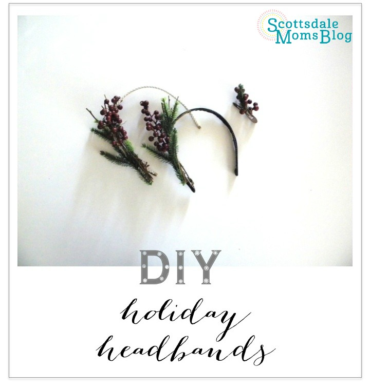 Holiday headband graphic SMB