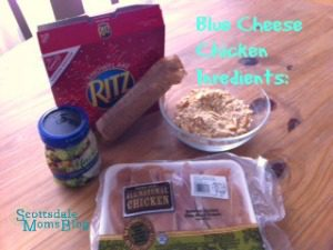 blue cheese chicken ingredients - real