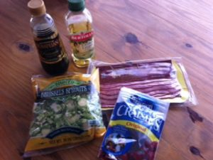 brussel sprout ingredients