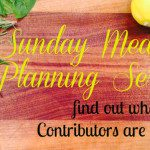 Sunday Meal Planning {Recipes with more than one use}