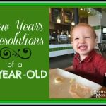 New Year's Resolutions {of a 2-YEAR-OLD}