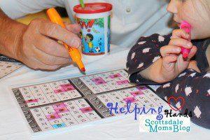 Family Night Bingo- Helping Hands