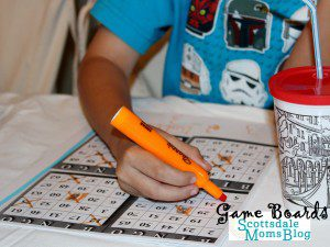 Family Night Bingo- Game Boards