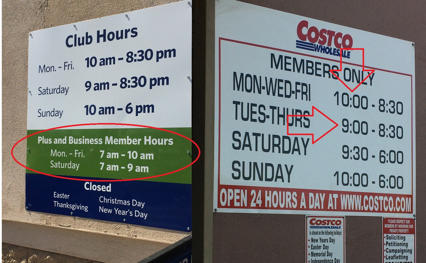 What Time Does Sams Club Open On Sunday >> Confession Of A Costco Shopper