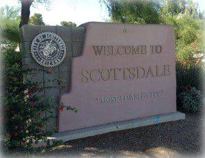 City of Scottsdale Sign