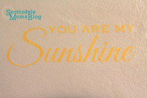 sunshine decal 1