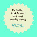 The Toddler Snack Drawer That Went Horribly Wrong