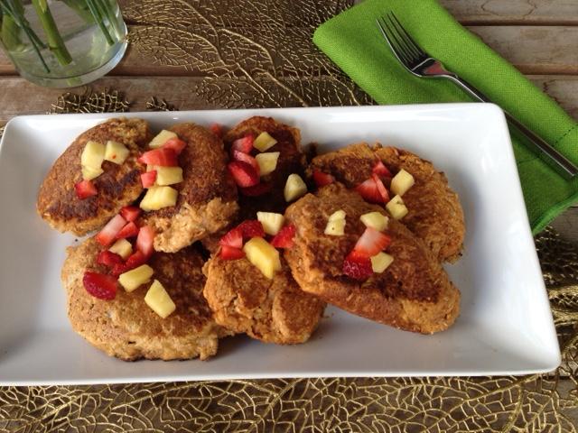 Oat coconut pancakes1