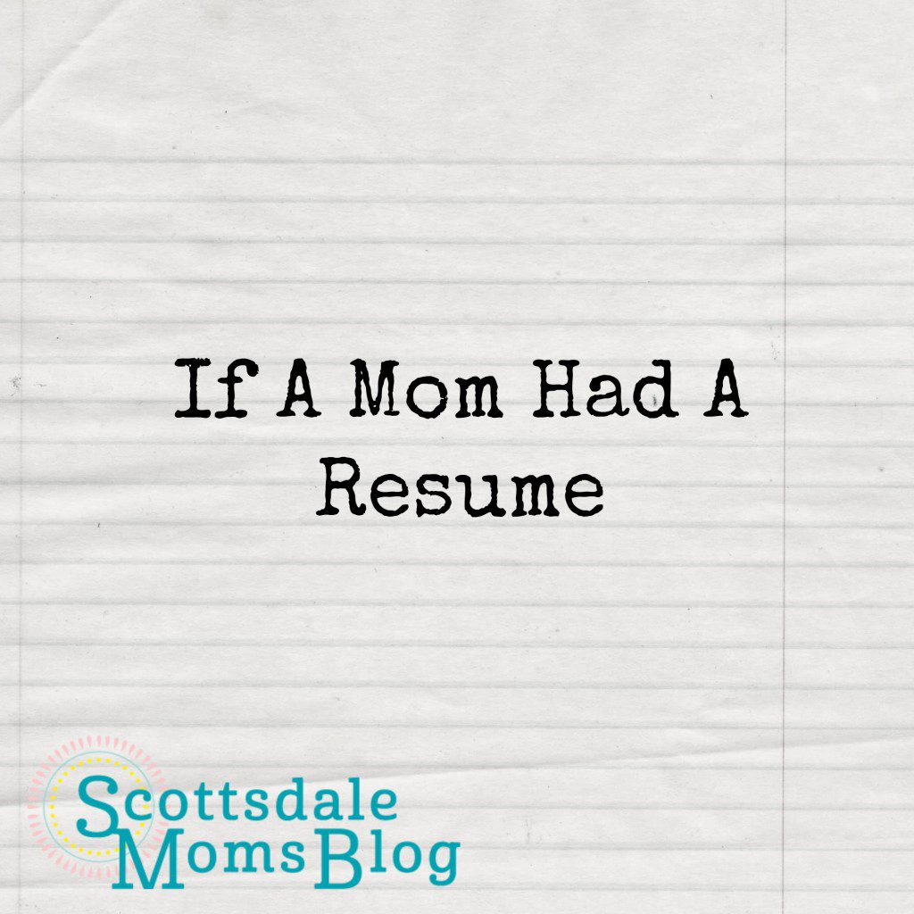 SMB Mom Resume