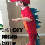 (EASY!) DIY Dinosaur Costume