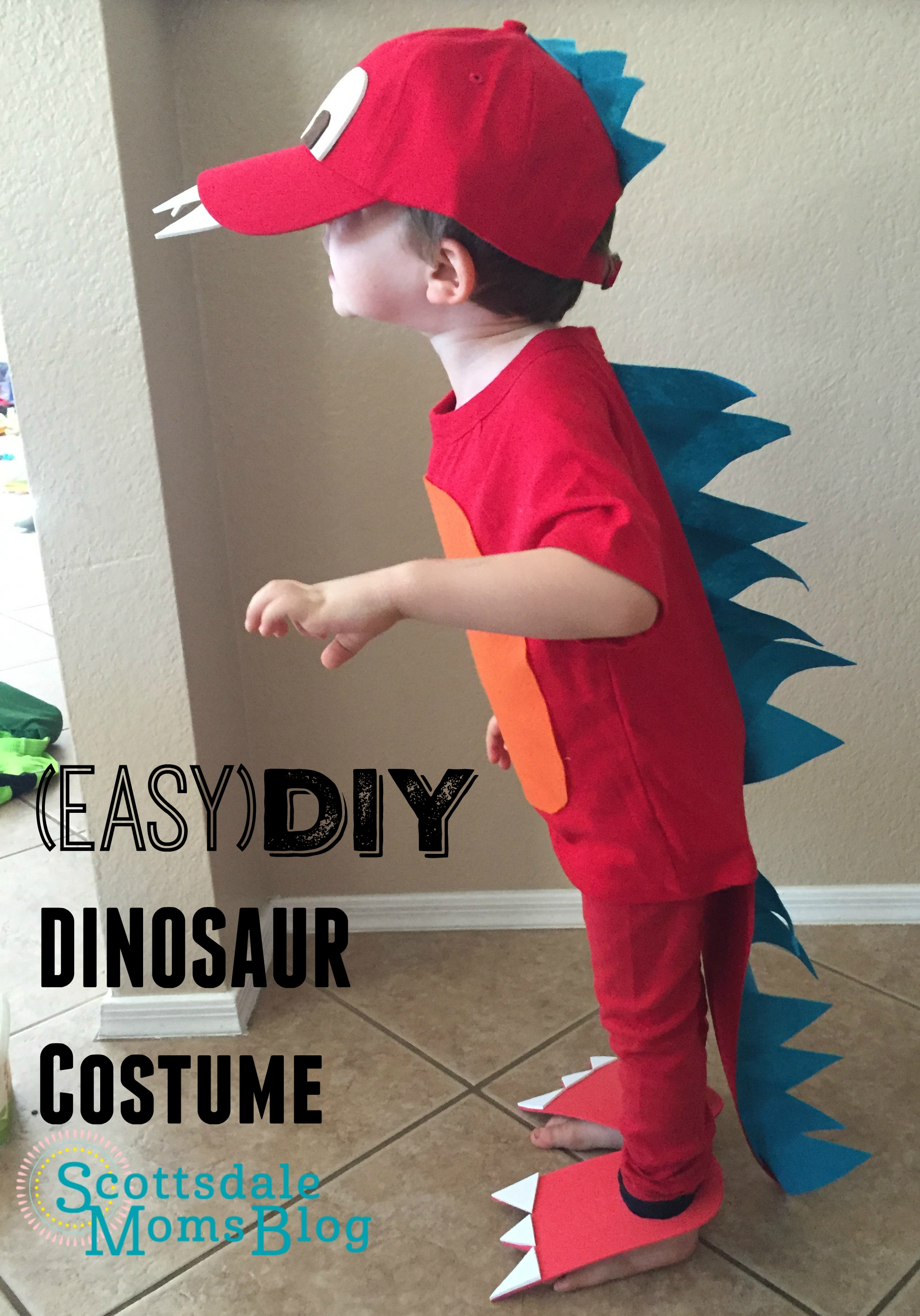 Easy Diy Dinosaur Costume