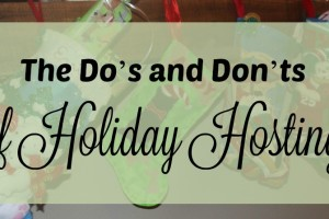 Holiday Hosting Header