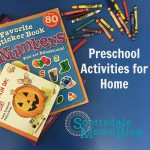 Preschool Activities to do at Home