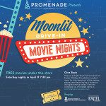 Moonlit Drive-In Movies at the Promenade