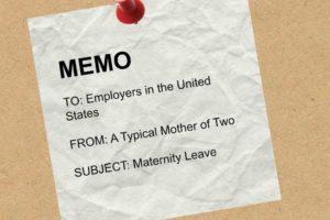 Maternity Leave Memo