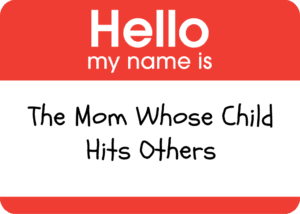 child who hits