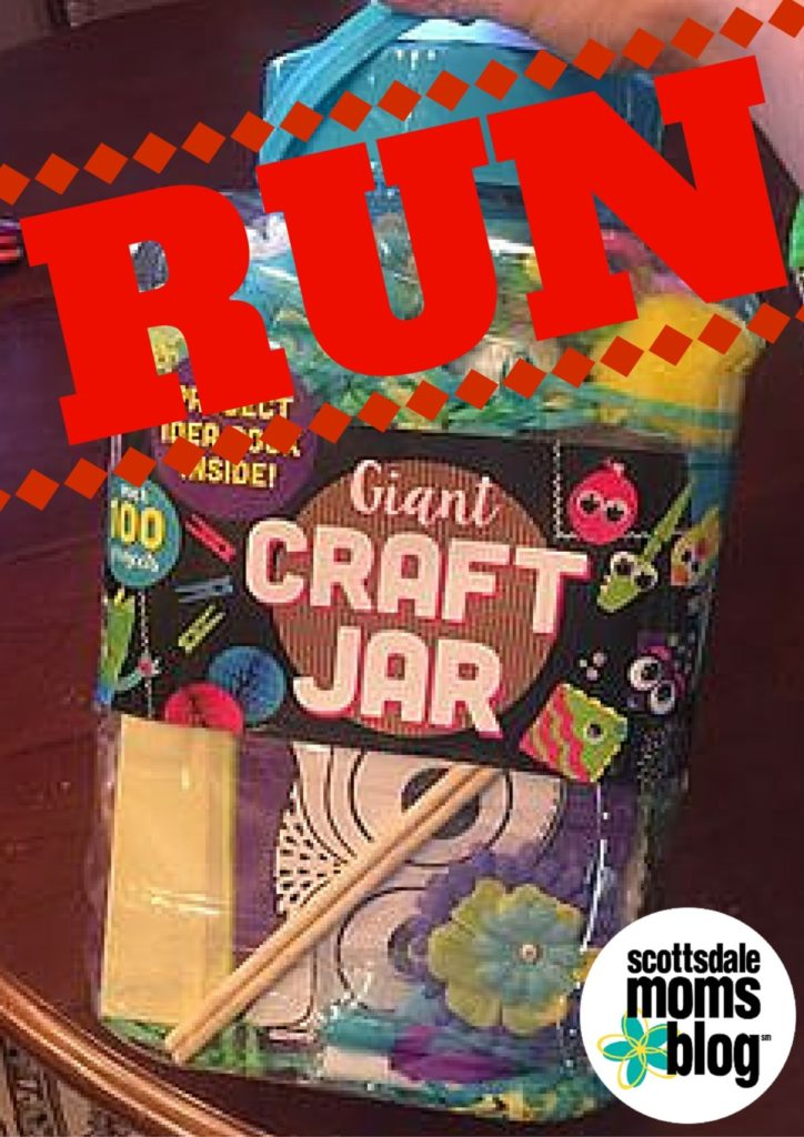 giant craft jar
