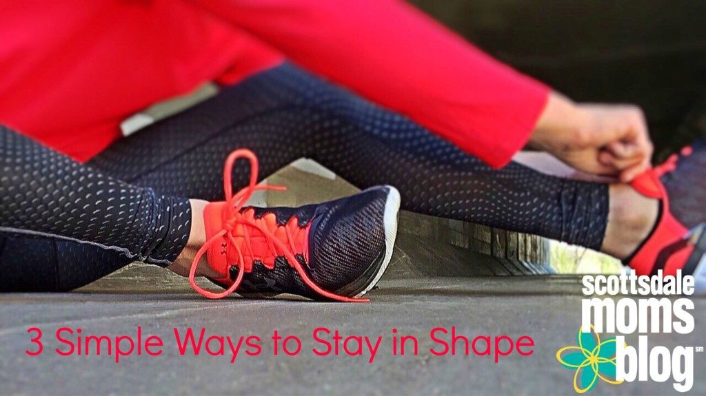stay in shape on vacation