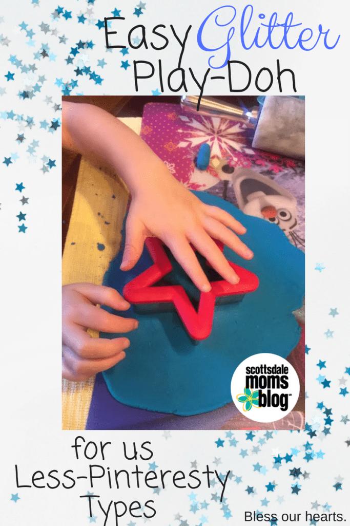 glitter Play-Doh