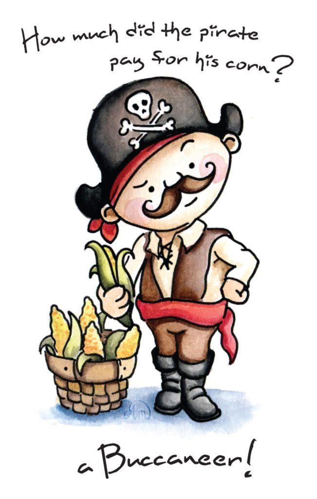 pirate corn