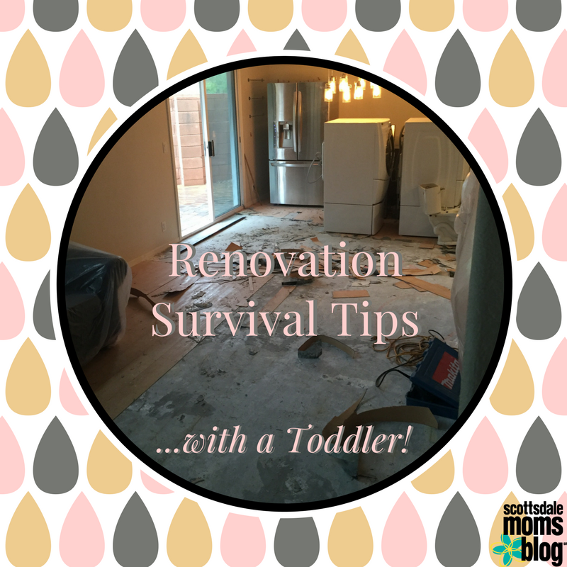 renovation with kids