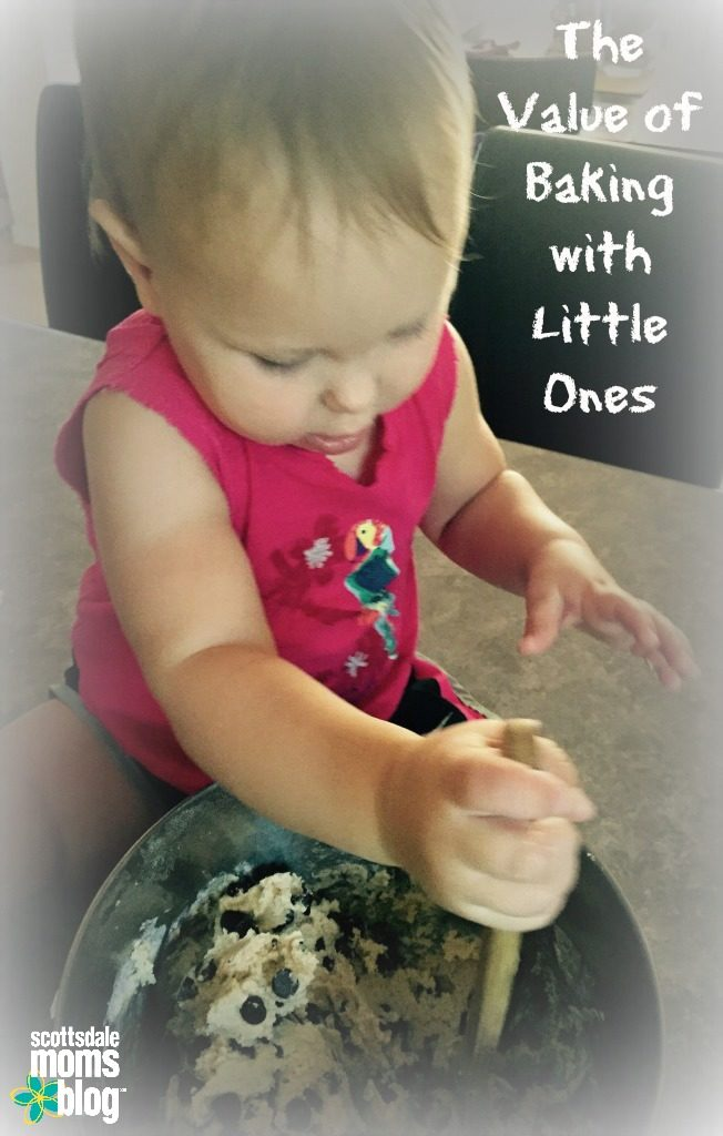 Value of Baking with Little Ones
