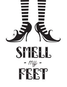 smell my feet white