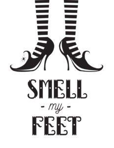 smell my feet white