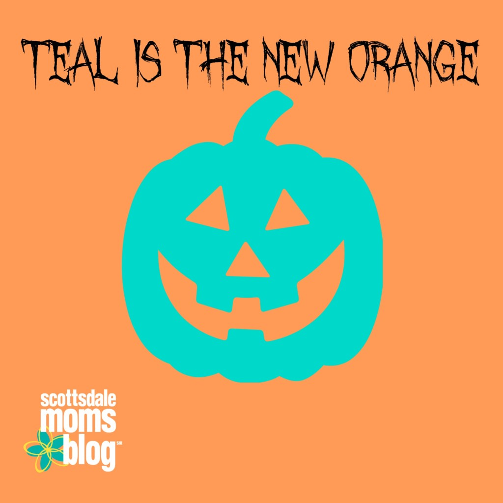 Teal pumpkins bring awareness to the dangers of food allergies.